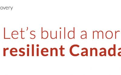 Sign on: Canada's and Ontario's Resilient Recovery